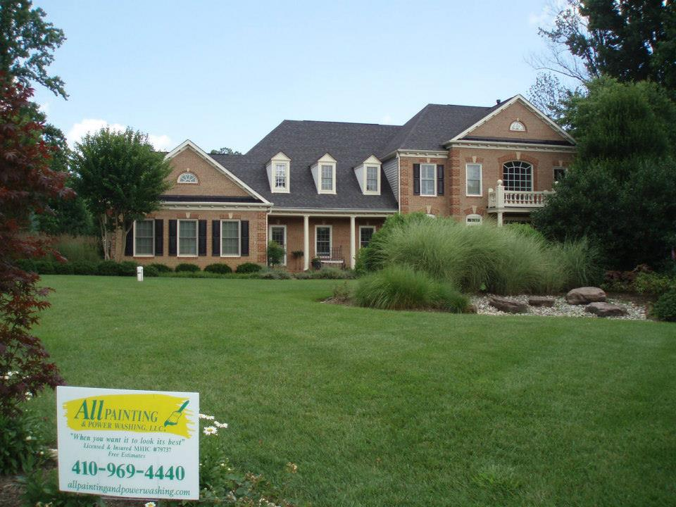 Maryland Exterior Painting Severna Park House Painters Annapolis Power Washing