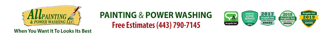 Severna Park House Painters Annapolis Power Washing