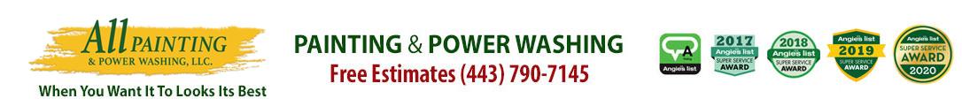 Severna Park House Painters Annapolis Power Washing